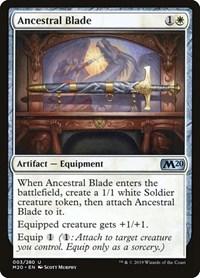Ancestral Blade, Magic: The Gathering, Core Set 2020