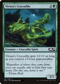 Vivien's Crocodile, Magic: The Gathering, Core Set 2020
