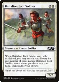 Battalion Foot Soldier, Magic: The Gathering, Core Set 2020