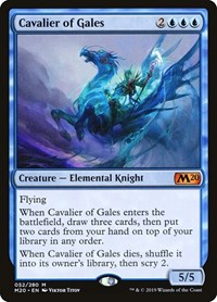 Cavalier of Gales, Magic, Core Set 2020