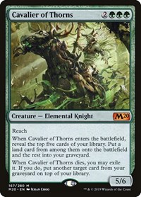 Cavalier of Thorns, Magic: The Gathering, Core Set 2020