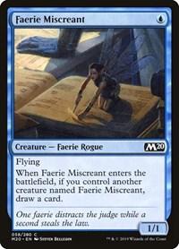 Faerie Miscreant, Magic, Core Set 2020