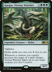 Gargos, Vicious Watcher, Magic, Core Set 2020