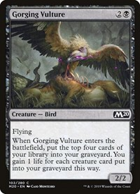 Gorging Vulture, Magic, Core Set 2020