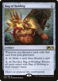 Bag of Holding, Magic: The Gathering, Core Set 2020