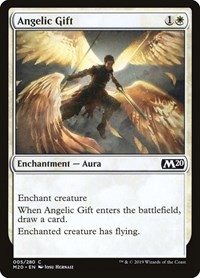 Angelic Gift, Magic: The Gathering, Core Set 2020