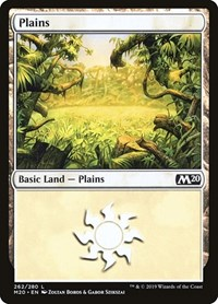 Plains (262), Magic: The Gathering, Core Set 2020