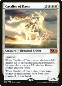 Cavalier of Dawn, Magic: The Gathering, Core Set 2020