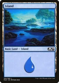 Island, Magic: The Gathering, Core Set 2020