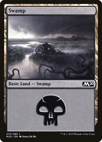 Swamp (272), Magic: The Gathering, Core Set 2020