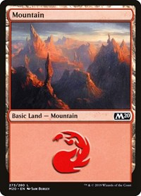 Mountain, Magic: The Gathering, Core Set 2020
