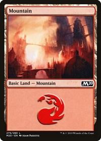 Mountain (275), Magic: The Gathering, Core Set 2020