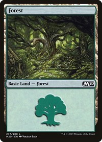 Forest, Magic: The Gathering, Core Set 2020