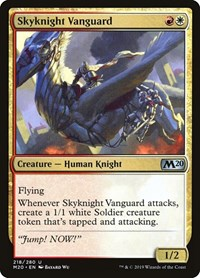 Skyknight Vanguard, Magic: The Gathering, Core Set 2020