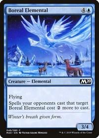 Boreal Elemental, Magic: The Gathering, Core Set 2020