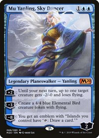 Mu Yanling, Sky Dancer, Magic: The Gathering, Core Set 2020