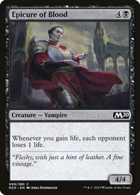 Epicure of Blood, Magic: The Gathering, Core Set 2020