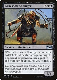 Gruesome Scourger, Magic, Core Set 2020