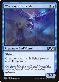 Warden of Evos Isle, Magic: The Gathering, Core Set 2020