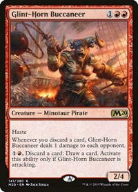 Glint-Horn Buccaneer, Magic: The Gathering, Core Set 2020