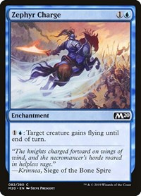 Zephyr Charge, Magic: The Gathering, Core Set 2020