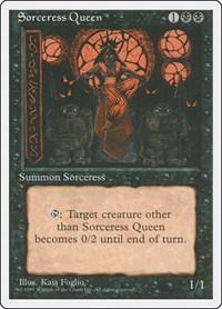 Sorceress Queen, Magic: The Gathering, Fourth Edition