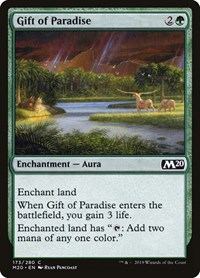 Gift of Paradise, Magic: The Gathering, Core Set 2020