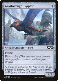 Anvilwrought Raptor, Magic: The Gathering, Core Set 2020