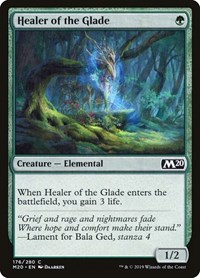 Healer of the Glade, Magic, Core Set 2020