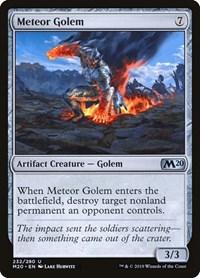 Meteor Golem, Magic: The Gathering, Core Set 2020