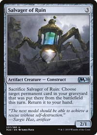 Salvager of Ruin, Magic, Core Set 2020