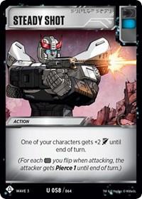 Steady Shot, Transformers TCG, War for Cybertron: Siege I