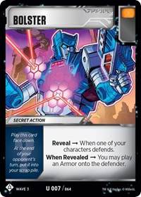 Bolster, Transformers TCG, War for Cybertron: Siege I