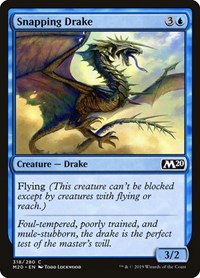 Snapping Drake, Magic: The Gathering, Core Set 2020