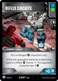 Reflex Circuits, Transformers TCG, War for Cybertron: Siege I