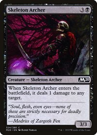 Skeleton Archer, Magic: The Gathering, Core Set 2020