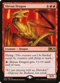 Shivan Dragon, Magic: The Gathering, Core Set 2020