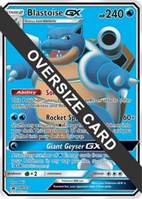 Blastoise GX - SM189 (Black Star Promos), Pokemon, Jumbo Cards