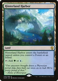 Hinterland Harbor, Magic: The Gathering, Promo Pack: Core Set 2020