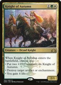 Knight of Autumn, Magic, Promo Pack: Core Set 2020