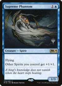 Supreme Phantom, Magic: The Gathering, Promo Pack: Core Set 2020