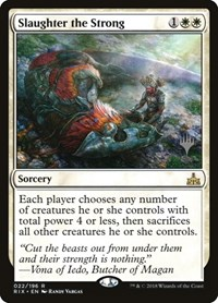 Slaughter the Strong, Magic: The Gathering, Promo Pack: Core Set 2020