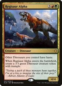 Regisaur Alpha, Magic, Promo Pack: Core Set 2020