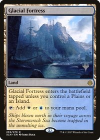 Glacial Fortress, Magic: The Gathering, Promo Pack: Core Set 2020