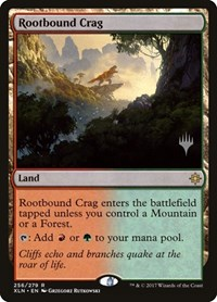 Rootbound Crag, Magic: The Gathering, Promo Pack: Core Set 2020