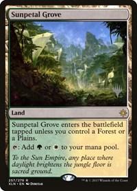 Sunpetal Grove, Magic: The Gathering, Promo Pack: Core Set 2020
