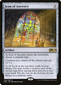 Icon of Ancestry, Magic, Promo Pack: Core Set 2020