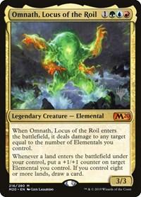 Omnath, Locus of the Roil (Foil)