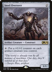 Steel Overseer, Magic: The Gathering, Promo Pack: Core Set 2020