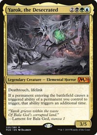 Yarok, the Desecrated, Magic: The Gathering, Promo Pack: Core Set 2020
